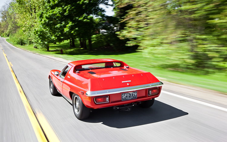 1971 1975 Lotus Europa Rear In Motion2